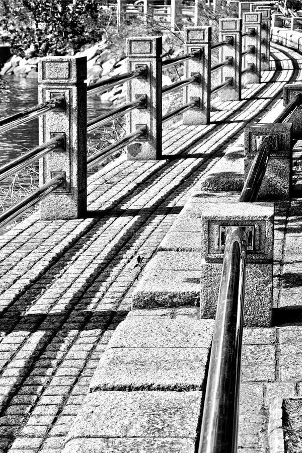 Πεζοδρόμιο καμπυλών στοκ φωτογραφία με δικαίωμα ελεύθερης χρήσης