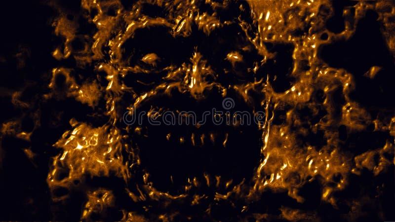 Πεινασμένες επιθέσεις βαμπίρ Πορτοκαλί χρώμα στοκ φωτογραφία με δικαίωμα ελεύθερης χρήσης