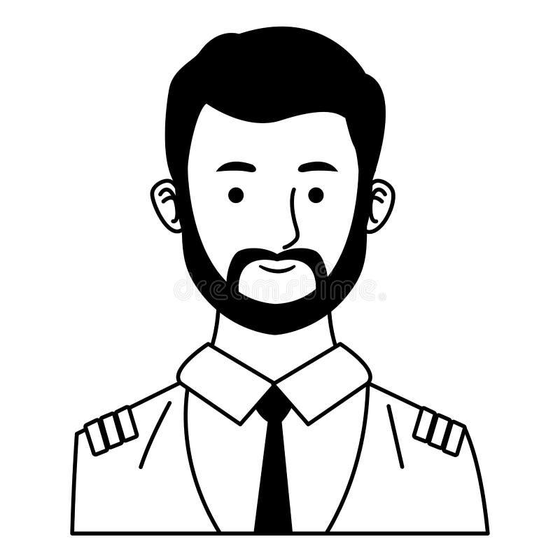 Πειραματικά κινούμενα σχέδια σχεδιαγράμματος χαμόγελου επιβατηγών αεροσκαφών σε γραπτό απεικόνιση αποθεμάτων
