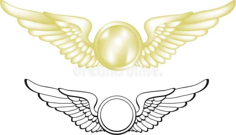πειραματικά φτερά απεικόνιση αποθεμάτων