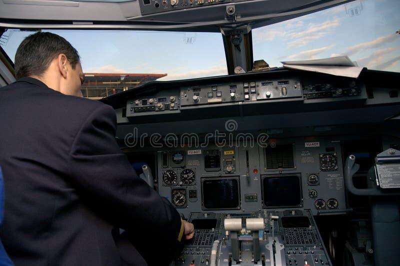 πειραματικό αεροπλάνο στοκ εικόνα