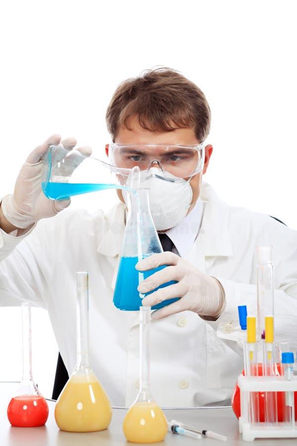 πειραματιμένος επιστήμον& στοκ φωτογραφία με δικαίωμα ελεύθερης χρήσης