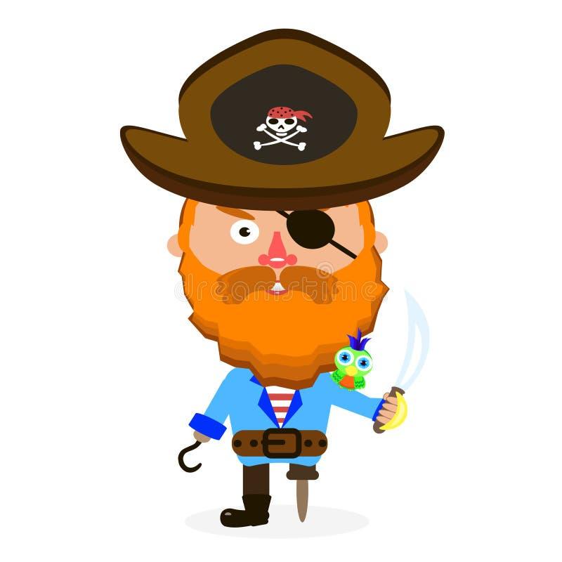 Πειρατής με το ξίφος απεικόνιση αποθεμάτων