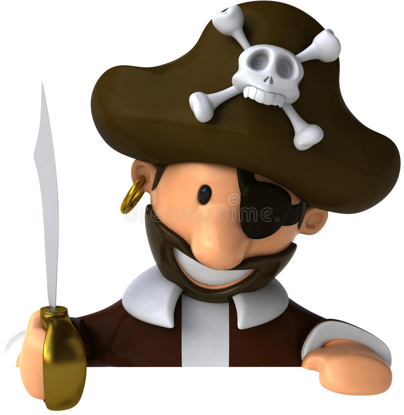 πειρατής διανυσματική απεικόνιση