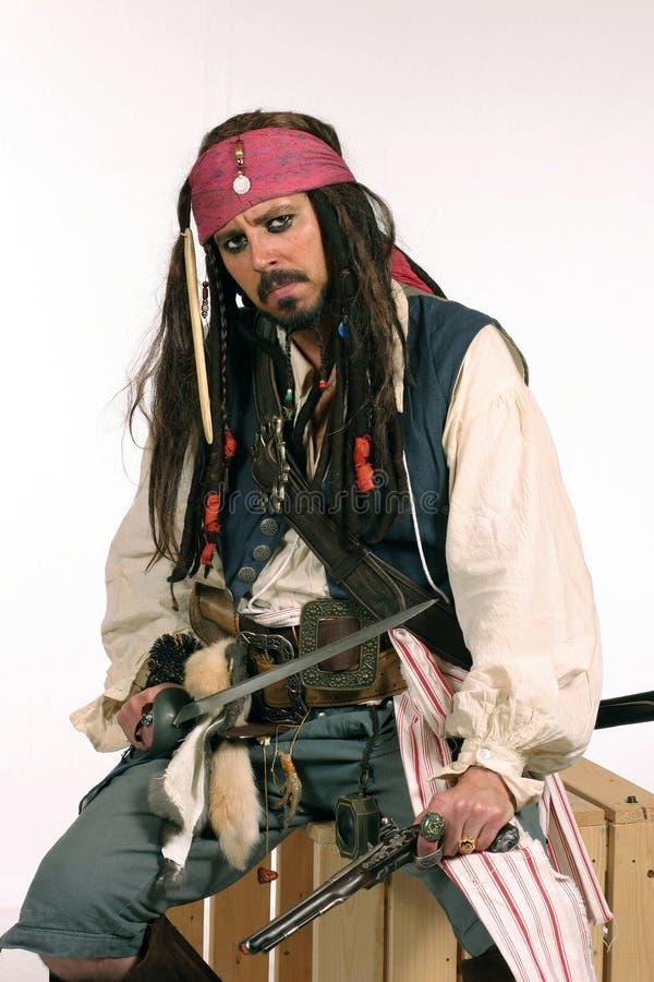 πειρατής penzance στοκ φωτογραφία