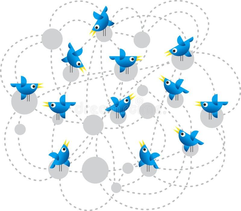 πειραχτήρι πουλιών απεικόνιση αποθεμάτων