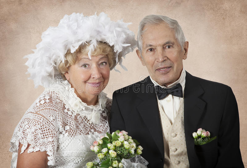 Πενήντα έτη από κοινού στοκ φωτογραφία με δικαίωμα ελεύθερης χρήσης
