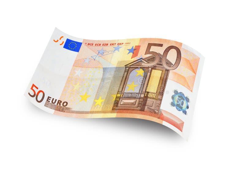 Πενήντα ευρώ στοκ εικόνες