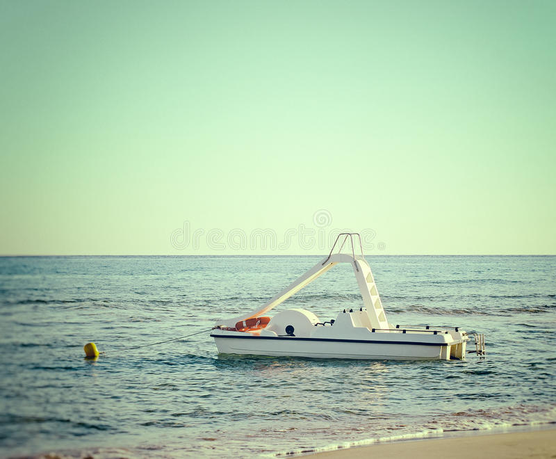 Πεντάλι-βάρκα στοκ εικόνα