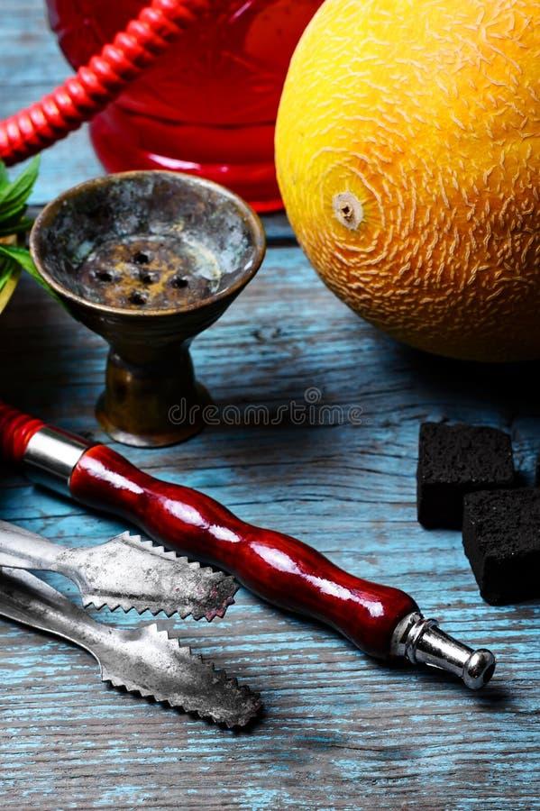Πεπόνι γεύσης Hookah στοκ εικόνες με δικαίωμα ελεύθερης χρήσης