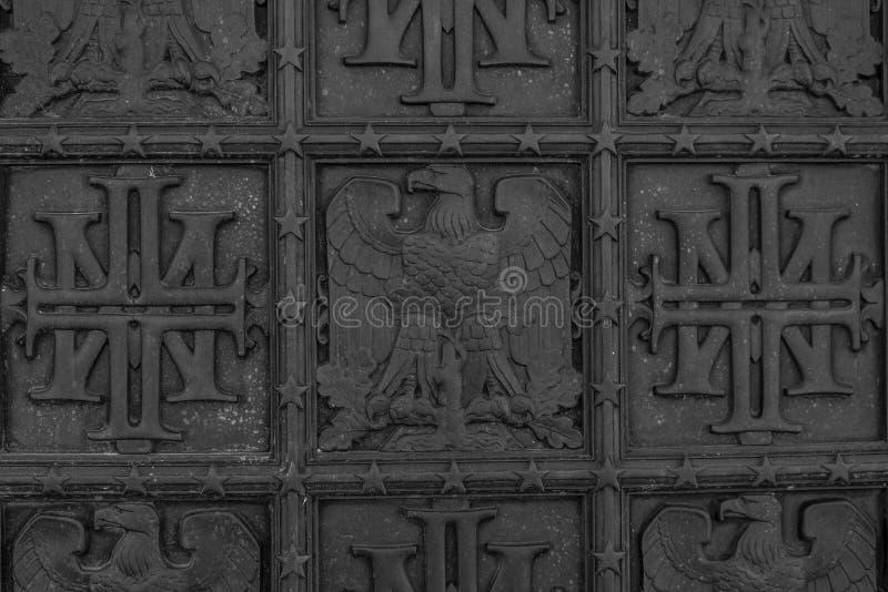 Περίκομψα σύμβολα μετάλλων της Αμερικής στοκ εικόνες με δικαίωμα ελεύθερης χρήσης
