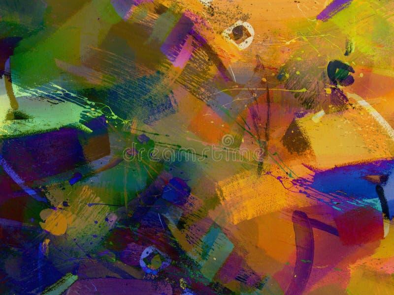 περίληψη που χρωματίζετα&io διανυσματική απεικόνιση
