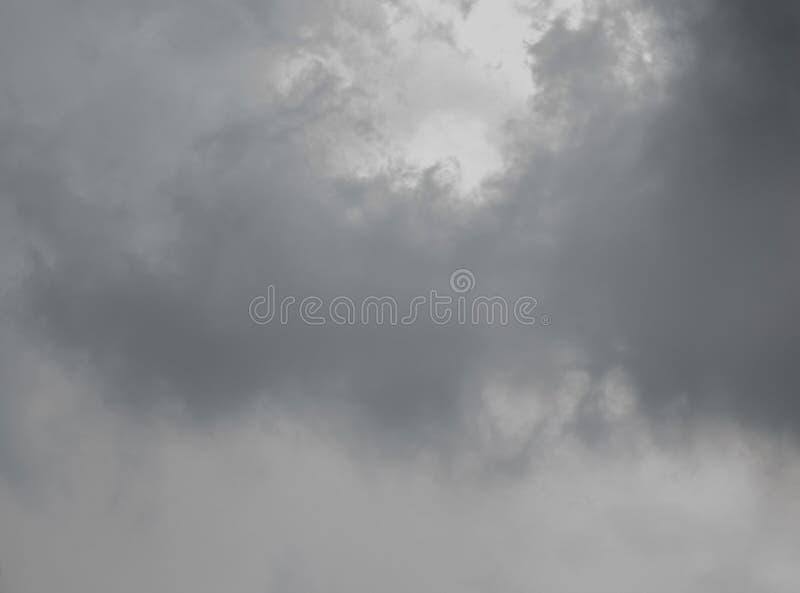 Περίληψη του σκοτεινού σύννεφου πριν από τη θύελλα στοκ εικόνες με δικαίωμα ελεύθερης χρήσης