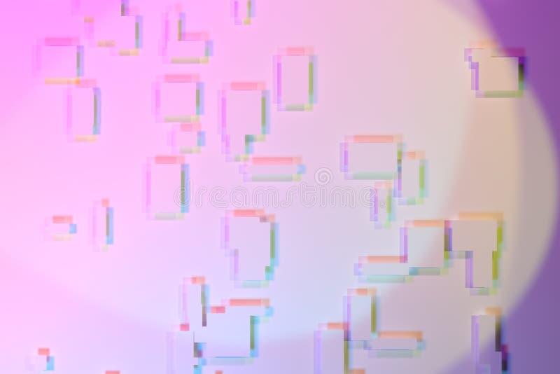 Περίληψη υποβάθρου με τη μαλακή σκιά, το σαφές ορθογώνιο ή το τετράγωνο για το σχέδιο, γραφικός πόρος Ζωηρόχρωμη τρισδιάστατη από ελεύθερη απεικόνιση δικαιώματος