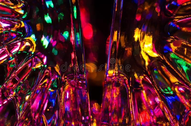 Περίληψη: Υπόβαθρο φαντασίας του φωτεινού και ζωηρόχρωμου φωτός στοκ φωτογραφίες με δικαίωμα ελεύθερης χρήσης