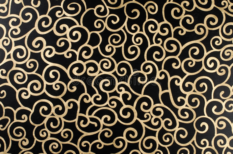 περίληψη arabesque χρυσή στοκ εικόνες