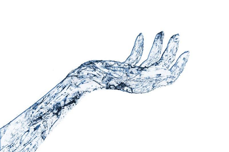 περίληψη waterhand ελεύθερη απεικόνιση δικαιώματος