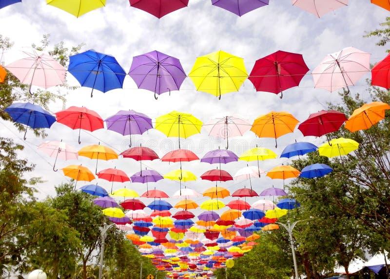 Περίπατος ομπρελών στοκ φωτογραφία με δικαίωμα ελεύθερης χρήσης