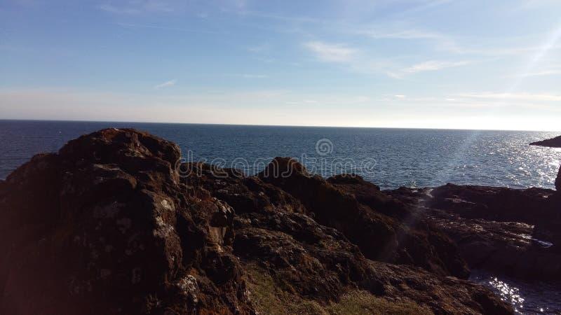 Περίπατος Σκωτία αλυσίδων Elie στοκ εικόνες