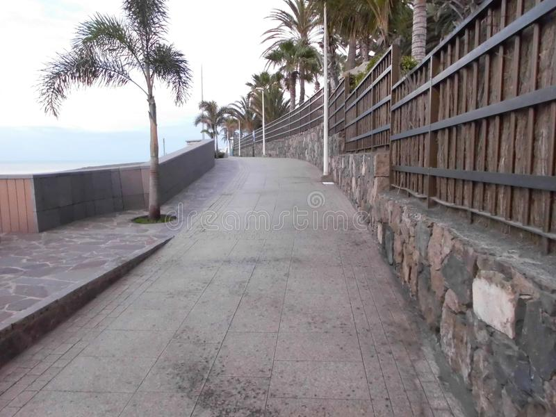 Περίπατος στην παραλία του SAN AgustÃn/θλγραν θλθαναρηα στοκ εικόνες