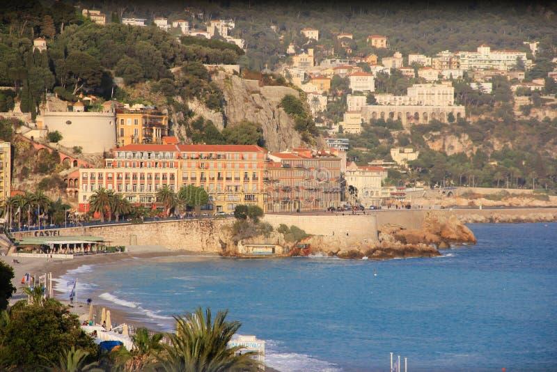 Περίπατος στη Νίκαια, Γαλλία στοκ φωτογραφίες