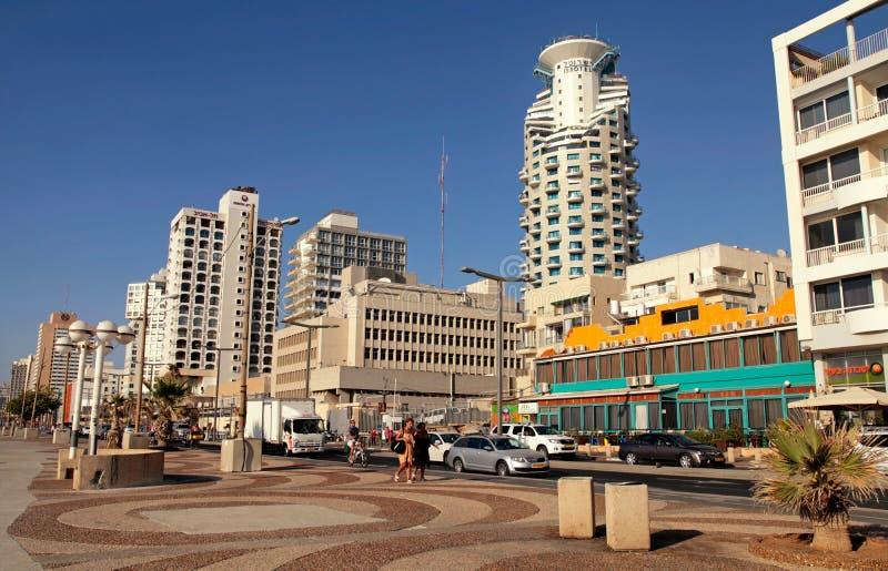 Περίπατος του Τελ Αβίβ, Ισραήλ στοκ φωτογραφίες