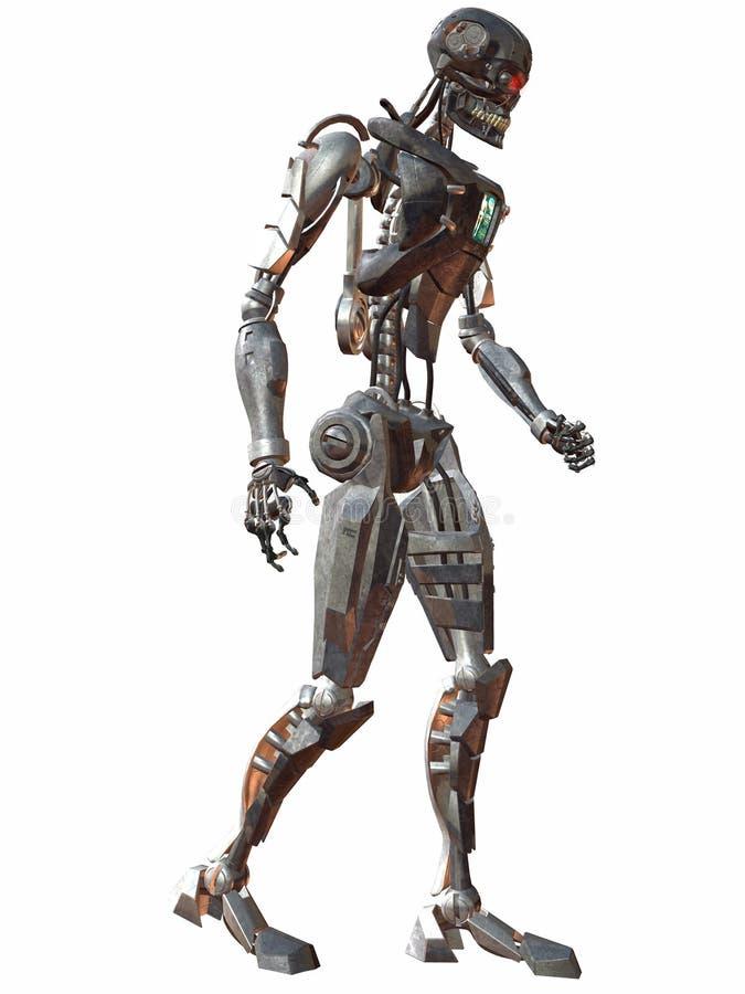 περίπατος 3000 cyborg απεικόνιση αποθεμάτων