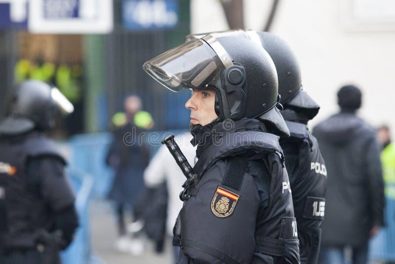 Περίπολος αστυνομίας ταραχής στοκ εικόνα με δικαίωμα ελεύθερης χρήσης