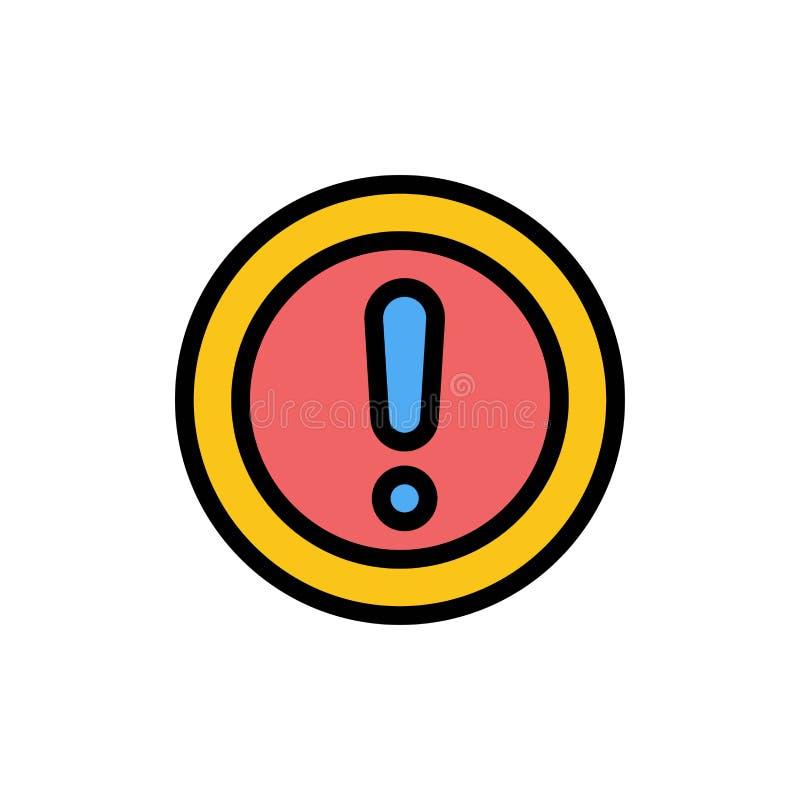 Περίπου, οι πληροφορίες, σημείωση, ερώτηση, υποστηρίζουν το επίπεδο εικονίδιο χρώματος Διανυσματικό πρότυπο εμβλημάτων εικονιδίων ελεύθερη απεικόνιση δικαιώματος