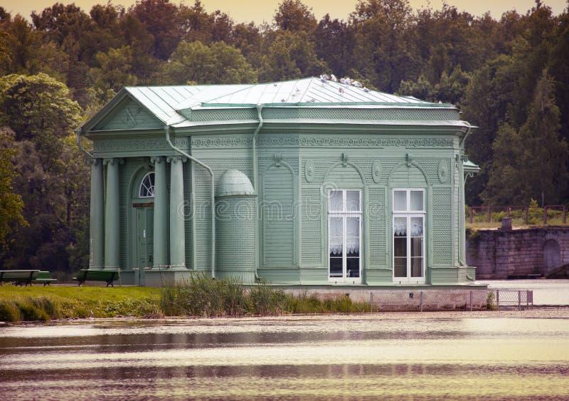 Περίπτερο της Αφροδίτης στο πάρκο, 1793 έτος Γκάτσινα Πετρούπολη Ρωσία στοκ εικόνες με δικαίωμα ελεύθερης χρήσης
