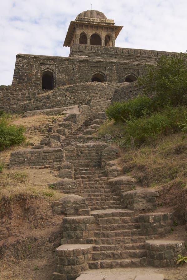 Περίπτερο της Rani Rupmati ` s, Mandu, Ινδία στοκ φωτογραφία με δικαίωμα ελεύθερης χρήσης