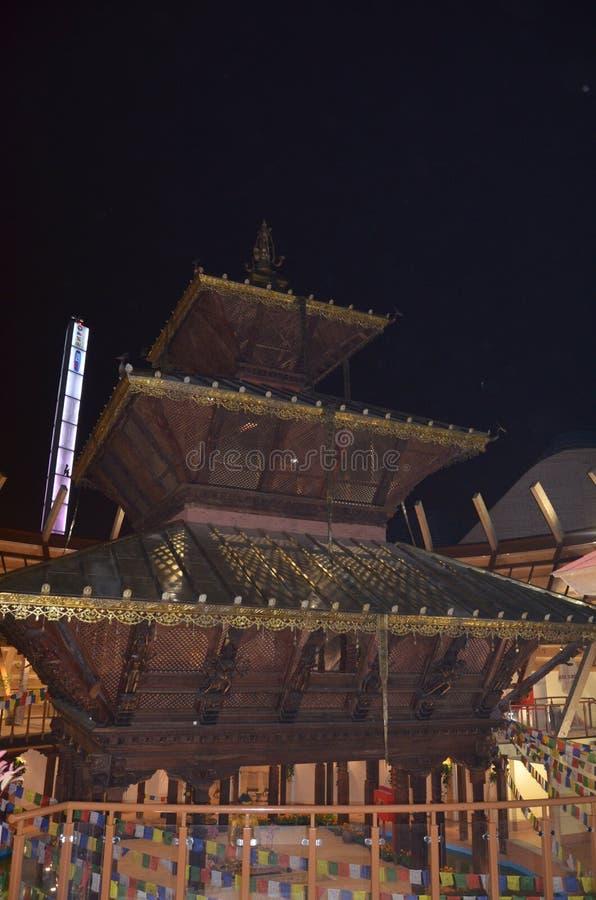 Περίπτερο του Νεπάλ σε EXPO Μιλάνο στοκ φωτογραφία με δικαίωμα ελεύθερης χρήσης