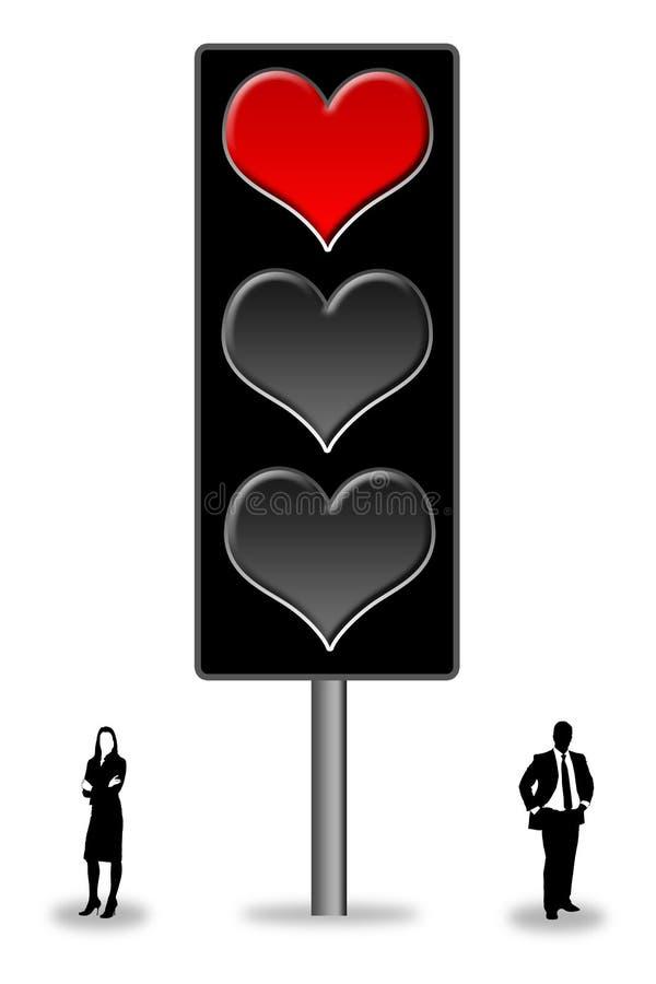 Περίπλοκη αγάπη απεικόνιση αποθεμάτων