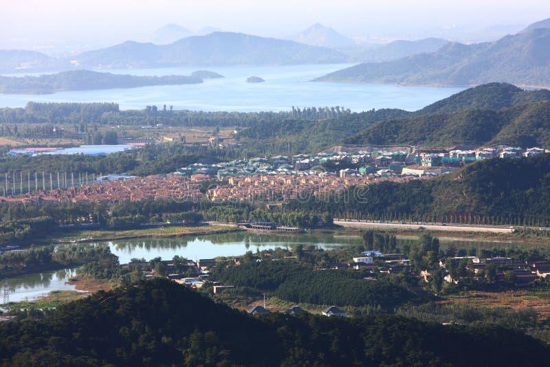 περίχωρα του Πεκίνου στοκ εικόνες