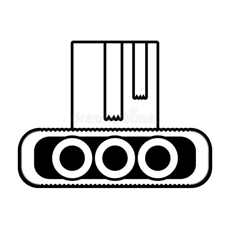 περίληψη βιομηχανίας παραγωγής κουτιών από χαρτόνι μεταφορέων ελεύθερη απεικόνιση δικαιώματος