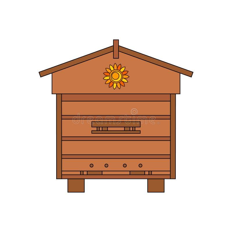 Περίληψη κυψελών μελισσών ελεύθερη απεικόνιση δικαιώματος