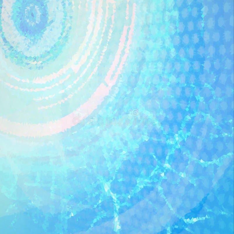 Περίληψη πολυγώνων διανυσματική απεικόνιση