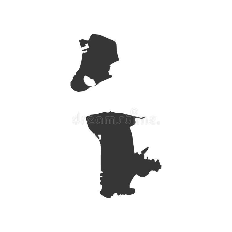 Περίληψη χαρτών του Μακάο απεικόνιση αποθεμάτων