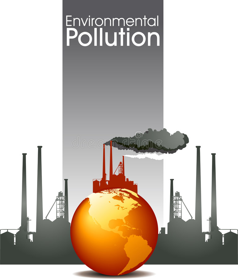 περιβαλλοντική ρύπανση ελεύθερη απεικόνιση δικαιώματος