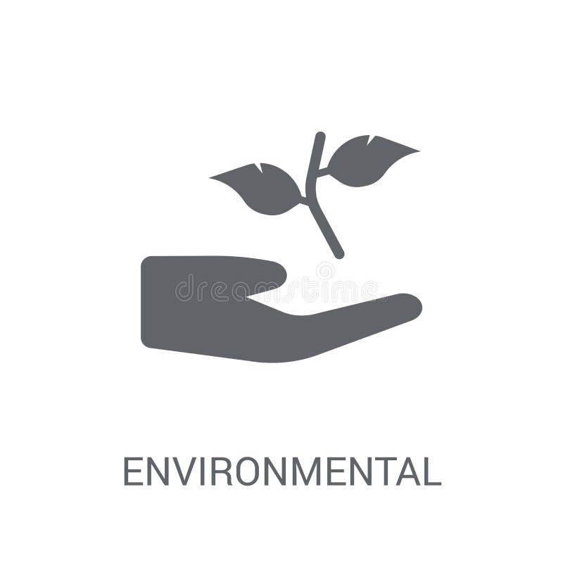 Περιβαλλοντικό εικονίδιο  ελεύθερη απεικόνιση δικαιώματος