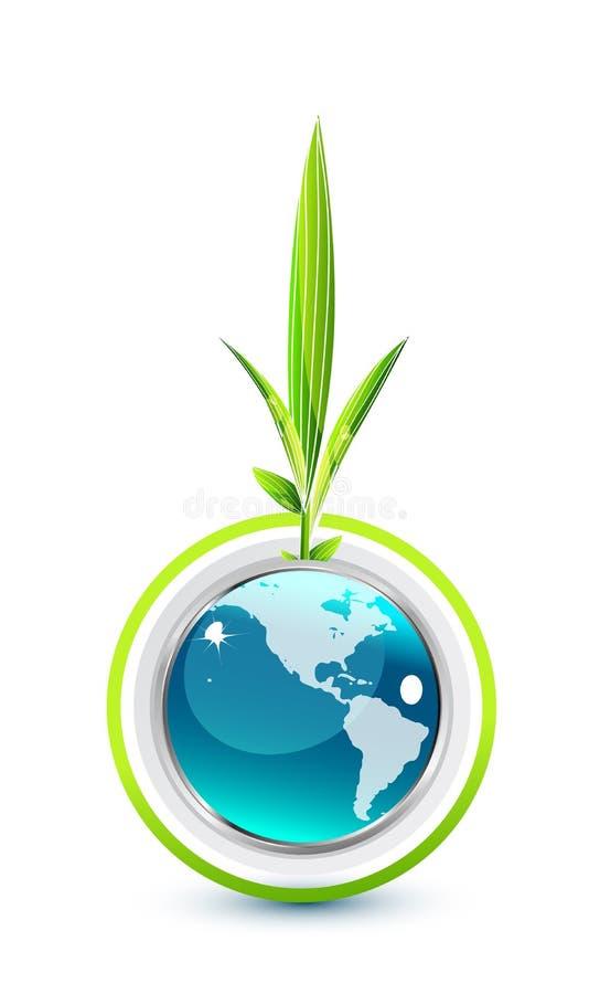 περιβαλλοντικό σύμβολο διανυσματική απεικόνιση