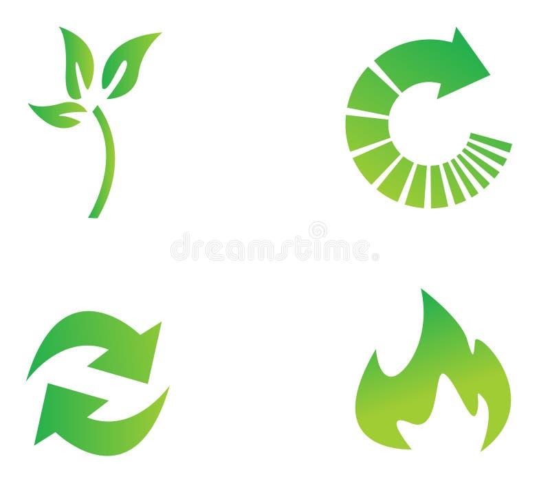 περιβαλλοντικό sym συντήρησης απεικόνιση αποθεμάτων