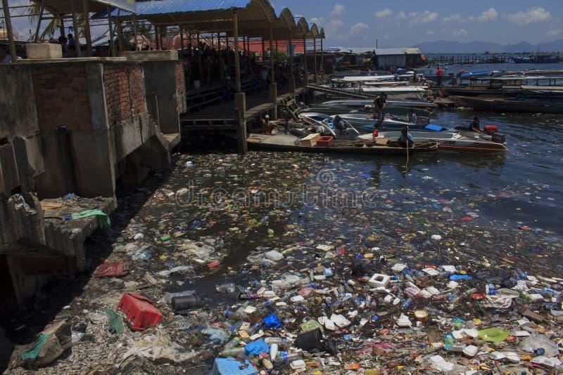 Περιβαλλοντική ρύπανση στοκ φωτογραφία