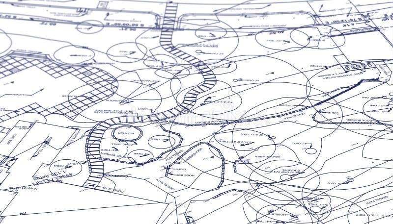 Περιγράμματα τοπίων απεικόνιση αποθεμάτων