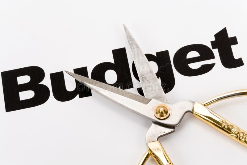 περικοπή προϋπολογισμού στοκ φωτογραφία με δικαίωμα ελεύθερης χρήσης