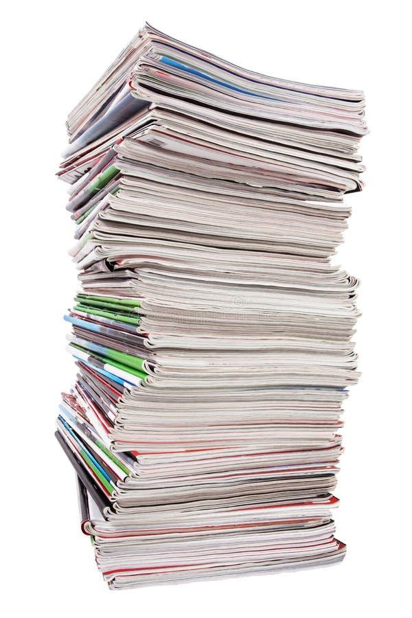 περιοδικά μερών χρησιμοποιούμενα στοκ φωτογραφία με δικαίωμα ελεύθερης χρήσης
