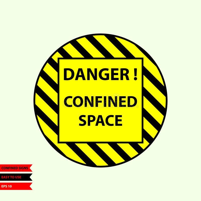 Περιορισμένο σημάδι στη διανυσματική έκδοση, εύχρηστος και την τυπωμένη ύλη ύφους διανυσματική απεικόνιση