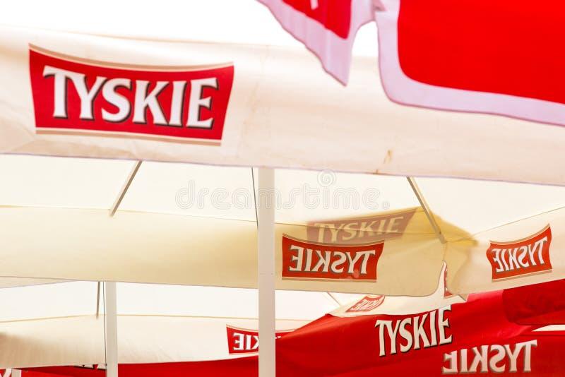 Περιοχή αποθηκών εμπορευμάτων στο ζυθοποιείο Starobrno στο Μπρνο, Δημοκρατία της Τσεχίας στοκ εικόνες