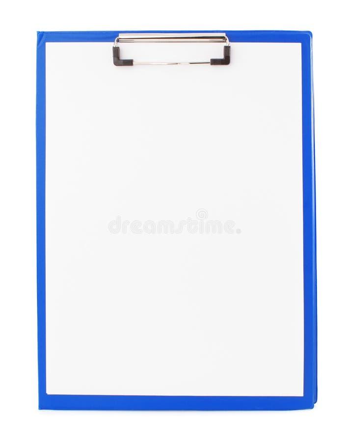 Περιοχή αποκομμάτων εγγράφου στο λευκό στοκ φωτογραφία με δικαίωμα ελεύθερης χρήσης