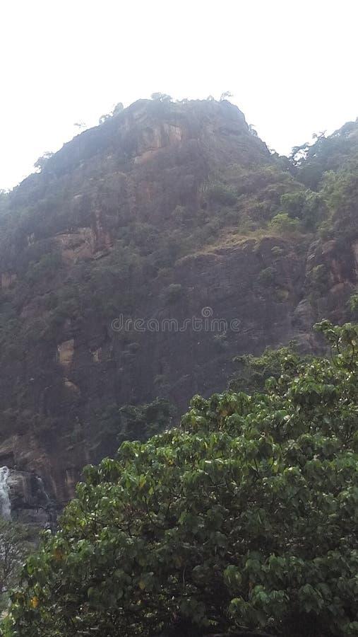 Περιοχή βουνών στη Σρι Λάνκα στοκ φωτογραφία με δικαίωμα ελεύθερης χρήσης